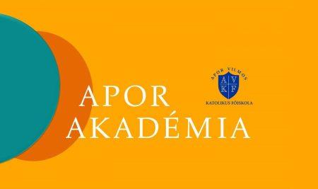 Apor Akadémia előadások